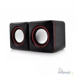 Caixa De Som Para Notebook Mini Digital Speaker P2/ Usb 2.0